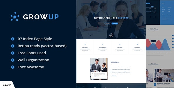 GrowUp Business & Financial - Business Corporate