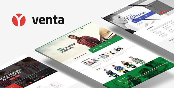 Venta - Event / Conference HTML Template - Events Entertainment