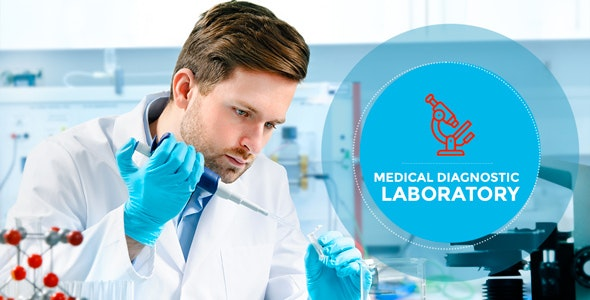 Laboratory - Research & Medical Diagnostic WP Theme - Health & Beauty Retail