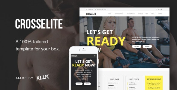 CrossElite - The 100% Tailored Fitness Template for your Box - Health & Beauty Retail