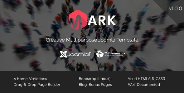 Mark - Creative Multipurpose Joomla Template
