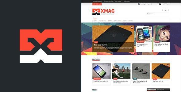 XMAG - Smart Magazine and Blog theme - News / Editorial Blog / Magazine