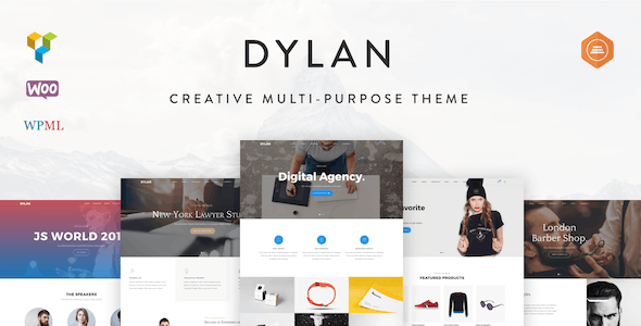 Dylan - Responsive Multi-Purpose WordPress Theme - Creative WordPress