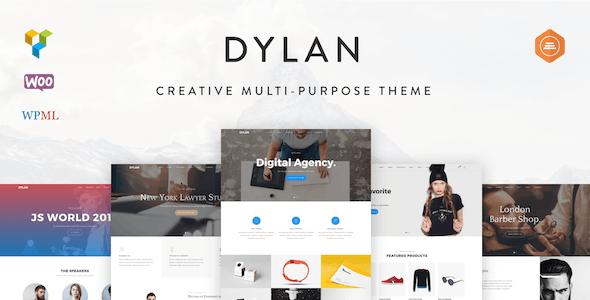 Dylan - Responsive Multi-Purpose WordPress Theme