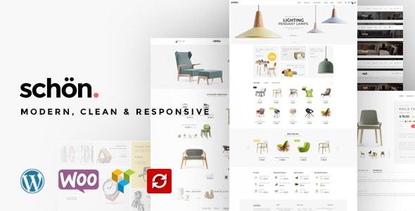 Schön - Modern, Clean & Responsive WooCommerce Theme - WooCommerce eCommerce