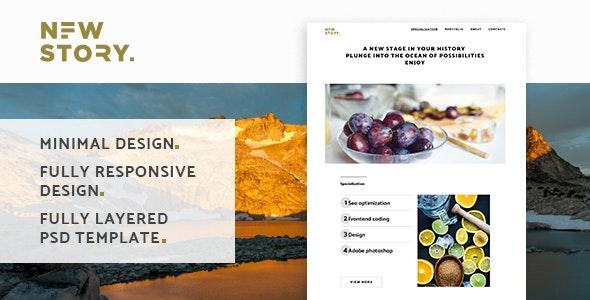 NewStory - Creative Multipurpose Landing Page - Landing Pages Marketing