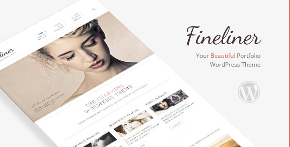 Fineliner - Responsive Portfolio WordPress Theme - Portfolio Creative