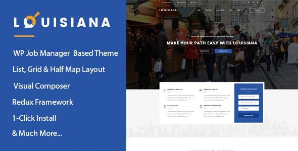 Louisiana - Responsive Listing Directory WordPress Theme