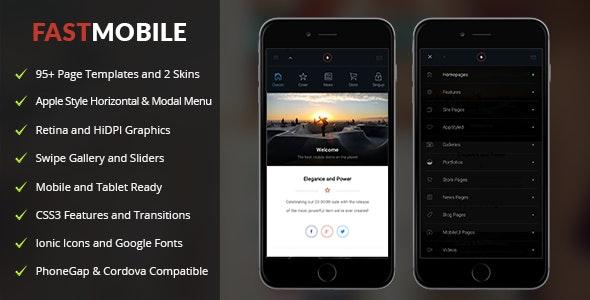 Fast Mobile - Mobile Site Templates