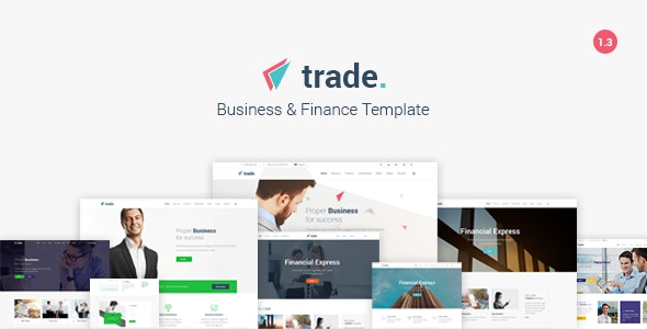 Trade - Business and Finance HTML5 Template - Business Corporate