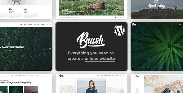 Brush - A Multipurpose WordPress Theme - Photography Creative