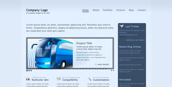 Transparent - Business & Portfolio 2.0 template - Portfolio Creative