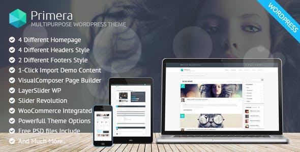 Primera - Corporate Multipurpose WordPress Theme