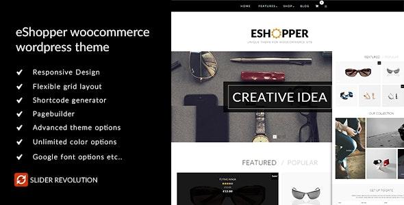 eShopper - WooCommerce WordPress Theme - WooCommerce eCommerce