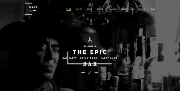 BarDojo - Epic Bar & Restaurant WordPress Theme