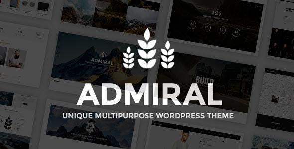 Admiral - Unique Multipurpose WordPress Theme - Creative WordPress