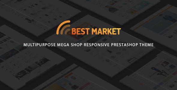 BestMarket - Multipurpose Mega Shop Responsive Prestashop Theme - Technology PrestaShop