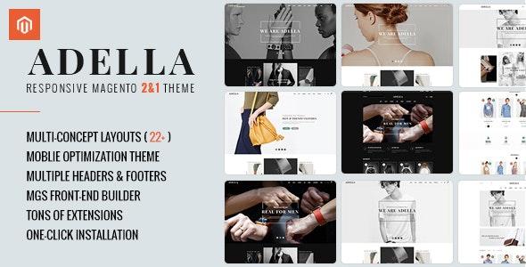 Adella Responsive Magento 2&1 Theme - Shopping Magento