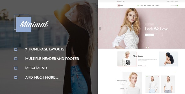 Leo Minimal - Prestashop 1.7 Theme for Women Fashion & Apparel - PrestaShop eCommerce