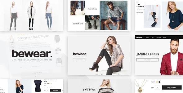 Bewear - Fashion LookBook WooCommerce Theme - WooCommerce eCommerce