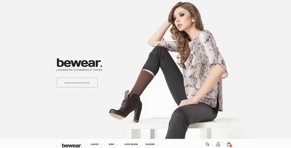 Bewear - Fashion LookBook WooCommerce Theme