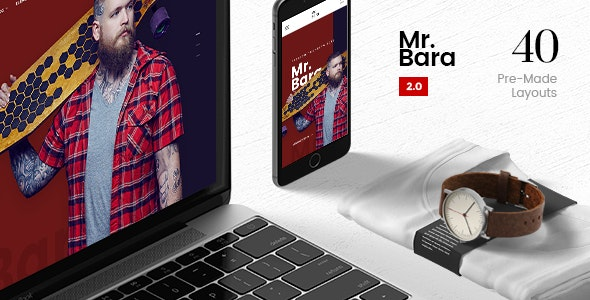 Mr.Bara | A Premium Multi-Ecommerce PSD Template - Retail PSD Templates