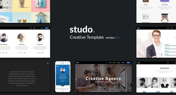 Studo - Creative Template - Creative Muse Templates