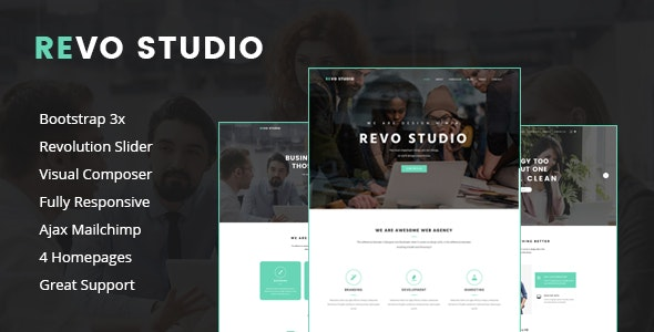 Revo Studio - Multipurpose WordPress Theme - Creative WordPress