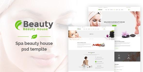 Beautyhouse - Health & Beauty PSD Template - Health & Beauty Retail
