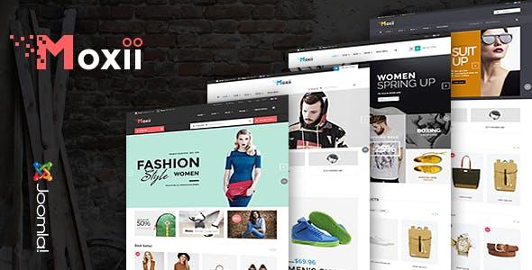 Vina Moxii - Responsive Fashion VirtueMart Template