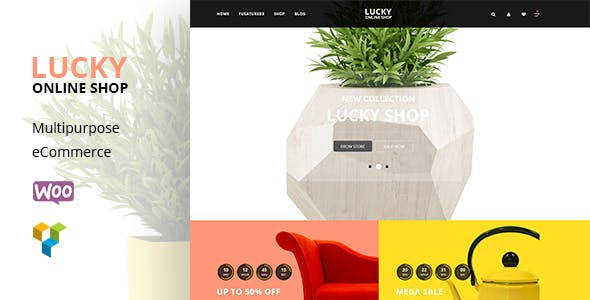 Lucky Furniture - RTL WooCommerce WordPress Theme