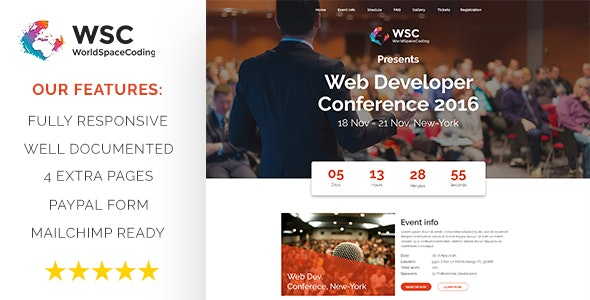WSC Meeting - Multipurpose Meeting Template - Business Corporate