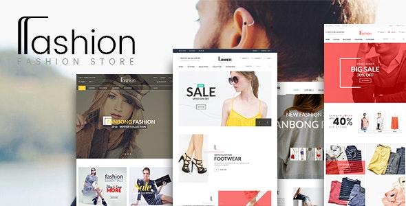 Fashion Multi-Purpose Ecommerce HTML Template - Retail Site Templates
