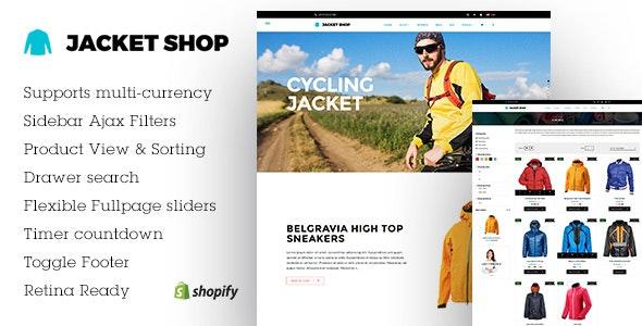 Jacket, Blazer Shopify Store - Miscellaneous Shopify