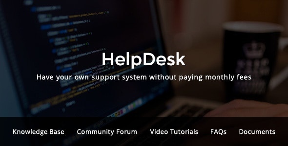 HelpDesk - WordPress Support Center Theme - Miscellaneous WordPress