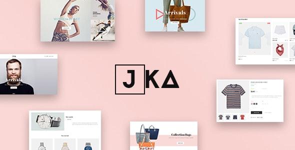 Leo Jka - eCommerce PSD Template - Retail Photoshop