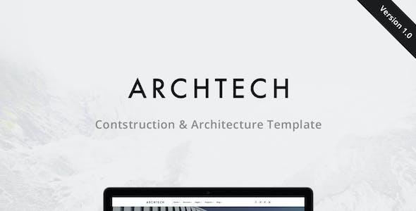 Archtech - Architecture & Construction Template