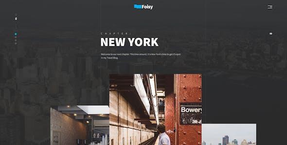 Foisy - Creative & Minimal Template
