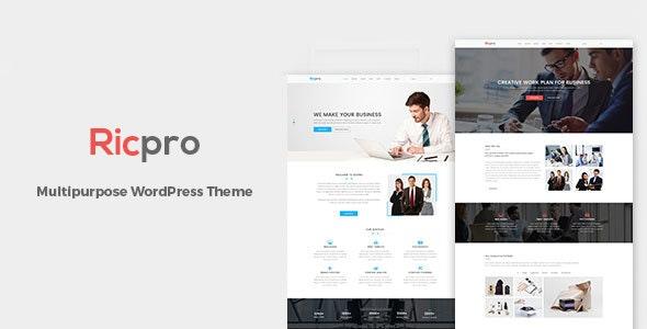Ricpro – Multipurpose Business WordPress Theme - Business Corporate