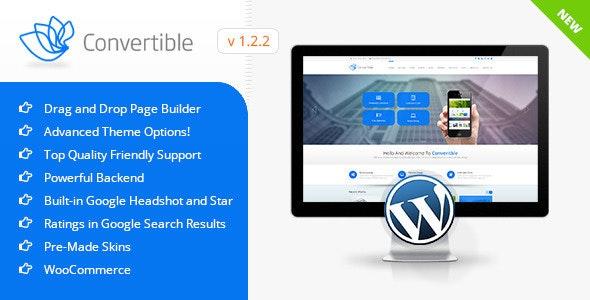 Convertible | Business WordPress Theme - Business Corporate