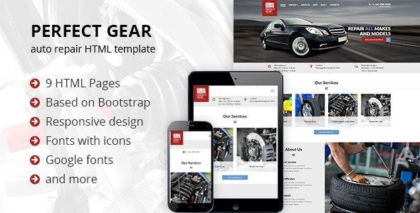 Perfect Gear 2 - Car Repair - Business Corporate
