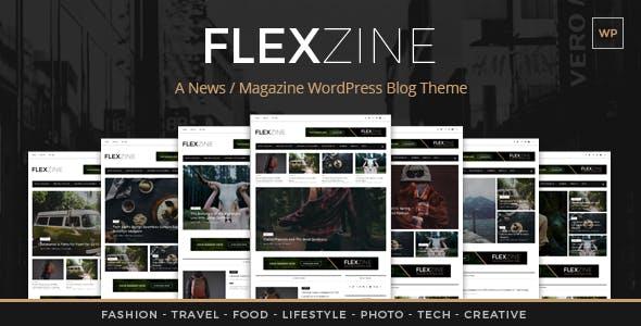 Flexzine - Fashion Magazine WordPress Blog Theme
