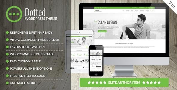 Dotted - Corporate Multipurpose WordPress Theme - Business Corporate