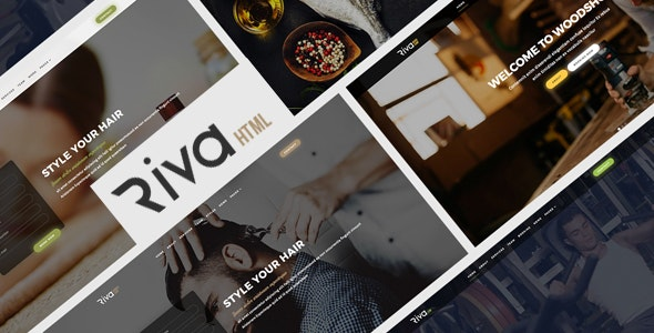 Riva - Multipurpose Booking for Small Businesses - Business Corporate