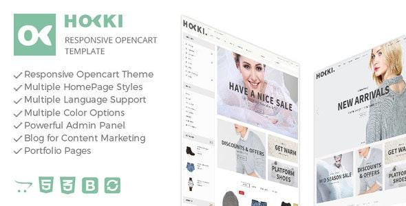 Hoki - Responsive Opencart Theme - Fashion OpenCart