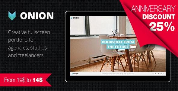Onion - Responsive & Creative Retina Ready HTML Portfolio Theme with Parallax and Big Images - Portfolio Creative