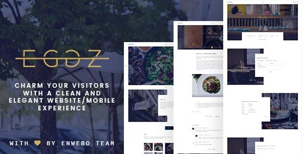 Restaurant Eggz - A Delicious Restaurant WordPress Theme - Restaurants & Cafes Entertainment