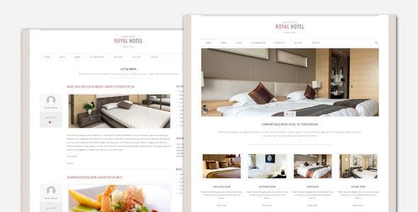 Royal - Hotel and Resort WordPress Theme - Travel Retail