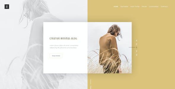Mini - Creative Blog Multipurpose PSD Template