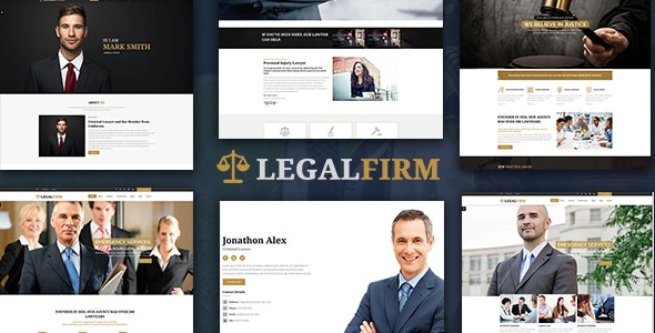 LegalFirm - Insurance & Lawyer HTML5 - Corporate Site Templates